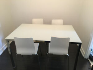 Dining Room Table W/ Chairs
