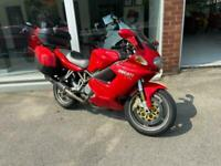 DUCATI ST4S, FULL DUCATI LUGGAGE, LEO VINCE EXHAUSTS, VERY LOW MILES, F.S.H