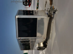 Aluma Sports Enclosed trailer