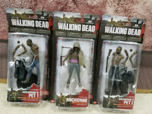 Walking dead Michonne and pets