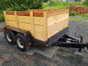 Double Axle Trailer / ramps. Utility/ Side by side / skid steer