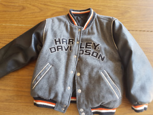Official Harley Davidson Reversible Jacket toddler size3