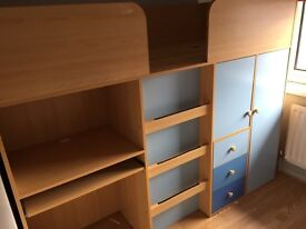 ****SOLD****Mid sleeper bed. ****SOLD