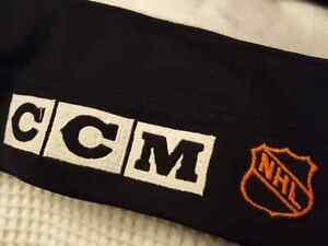 "Mark Messier 1997-98 Vancouver Canucks ""All-Star Patch"" CCM Size Edmonton Edmonton Area image 8"