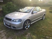 Vauxhall Astra convertible 2.0l turbo