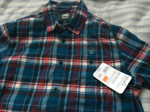 NEW Roots Flannel Shirt (M)