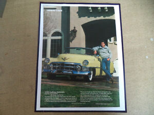 old cadillac classic car framed ads Windsor Region Ontario image 10