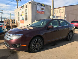 2011 FORD FUSION LOW KM POWER SEATS BLUETOOTH