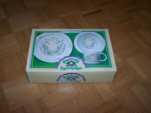 Cabbage Patch Kids Royal Worcester 3 piece Dish Set - new