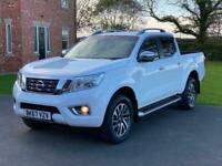 2017 Nissan Navara Double Cab Pick Up Tekna 2.3dCi 190 4WD *NO VAT* PICK UP Dies