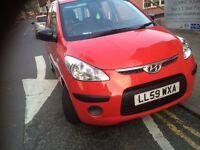 2010 Hyundai i10 1.2 petrol manual 57.000 miles £2000 ?