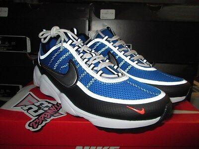 Sale Nike Zoom Sprdn Spiridon Regal Blue Metallic Silver 876267 400 Sz 8 13