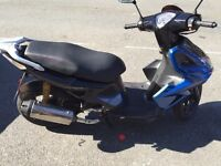 KYMCO Super 8 50cc! for sale or exchange of 125cc plus the difference for me!