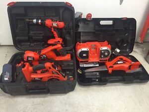 Black and Decker 18 v Kit