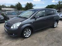 Toyota Verso 1.8 VVT-i SR MPV 2007/57 PETROL MANUAL-1 OWNER FROM NEW-7 SEATER