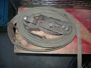 30 ft. Heavy Straps, some with chains Cambridge Kitchener Area image 2