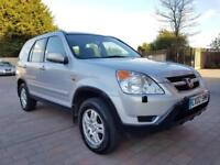 Sunroof* 2002 Honda CR-V 2.0 L Manual Black Petrol i-VTEC SE 2L CRV 4x4 Estate