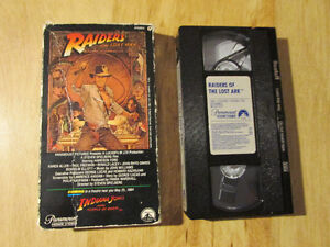 VHS Beta VCR Tapes & Audio Cassette Tape
