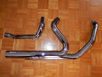 STOCK FRONT PIPE (HEADERS) - HARLEY-DAVIDSON