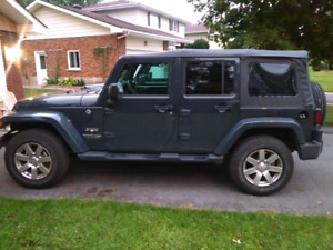 Lease takeover Jeep Wrangler Sahara Unlimited