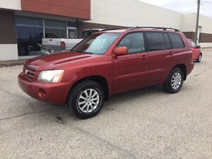 2003 Toyota Highlander AWD - No accidents - safetied - new tires