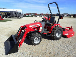 Massey Ferguson 25hp Compact Tractor - BEST PRICING OF THE YEAR!