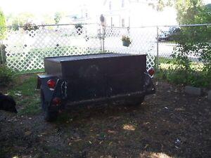 small closed in trailer