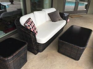 Java sofas, pool chaises and tables