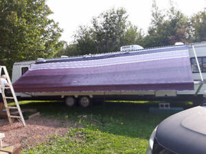 24 FT Trailer Canopy