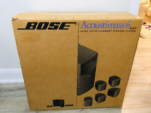 Bose Acoustimass6 home entertainment speaker system