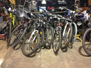 Mountain Bikes for Sale starting at $100+up