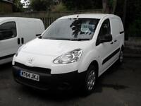 Peugeot Partner Pro 1.6HDi 2014 Diesel Air con White