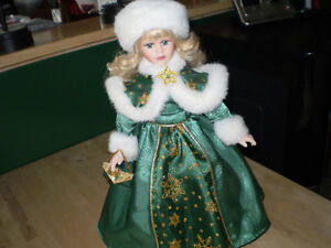 Beautiful Avon Collectable Porcelain Doll 2001