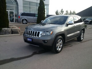 2011 Jeep Grand Cherokee Limited 4x4 with ext. warranty