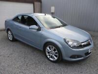 2006 Vauxhall Astra 1.8 VVT Design 2dr coupe cabriolet 2 door Convertible