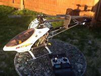 RC helicopter with upgrades