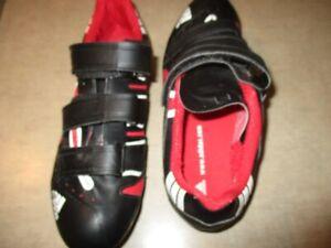 adidas road bike shoes& clets& look pedals EXCELLENT SHAPE