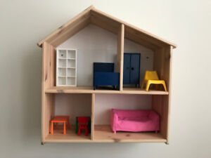 Doll House with Doll Furniture for sale