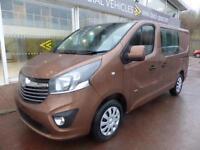 Vauxhall Vivaro Sportive Double Cab 6 seater Crew Van