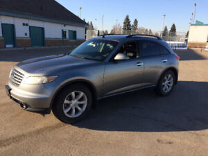 2004 Infiniti FX35 up for grabs