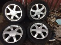 "Ford cougar 16"" wheels only"