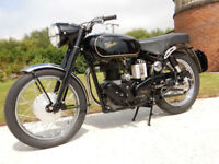 VELOCETTE VENOM CLUBMAN 500 GENUINE FACTORY BIKE 1968 MOT'd JULY 2018