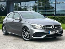 image for 2018 Mercedes-Benz A-CLASS A 160 AMG Line Saloon Petrol Manual