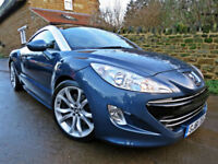 2011 PEUGEOT RCZ 2.0 HDi 163 GT COUPE. ONLY 42,000 MILES !!