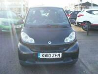 2010 smart fortwo PASSION MHD Auto Coupe Petrol Automatic