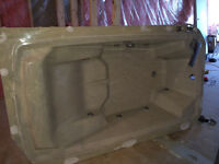 Jacuzzi tub with matching wall panels and sink, free!
