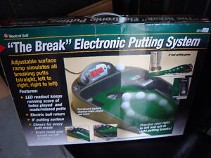 Golf, Golf game, Putting green, Electronic putting green London Ontario image 1