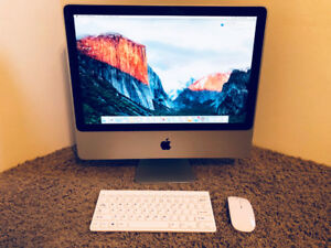 "iMac (20"", Mid-2007), 2.4ghz Core 2 Duo, 3GB RAM, 320GB HDD"