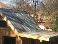 Metal Roof $5/foot