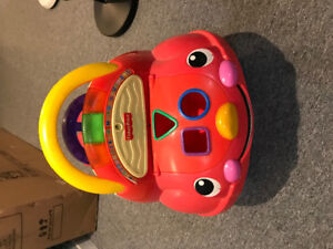 Many toddlers riding toys, $10 each